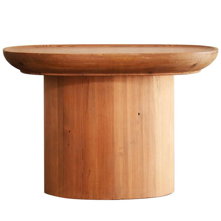 Axel Einar Hjorth Utö Pine Side Table Nordiska Kompaniet SOLD
