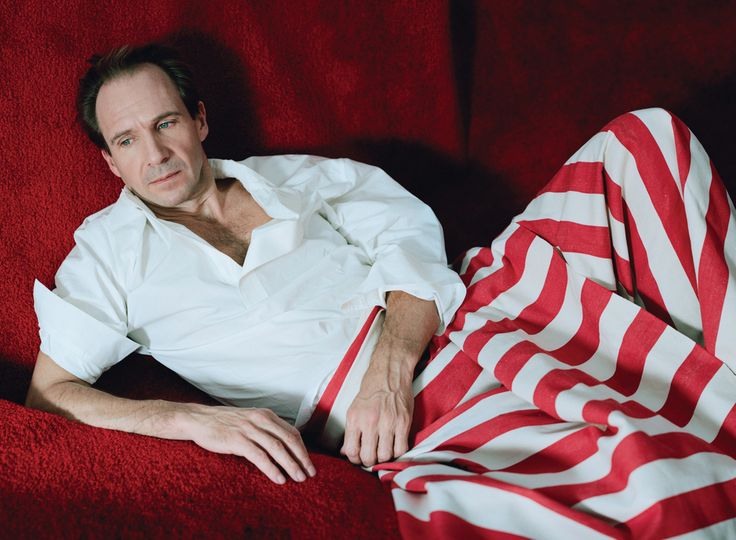 Ralph Fiennes in The Movie Issue, W Magazine, February 2015. Photographed by Tim Walker. Styled by Jacob K.