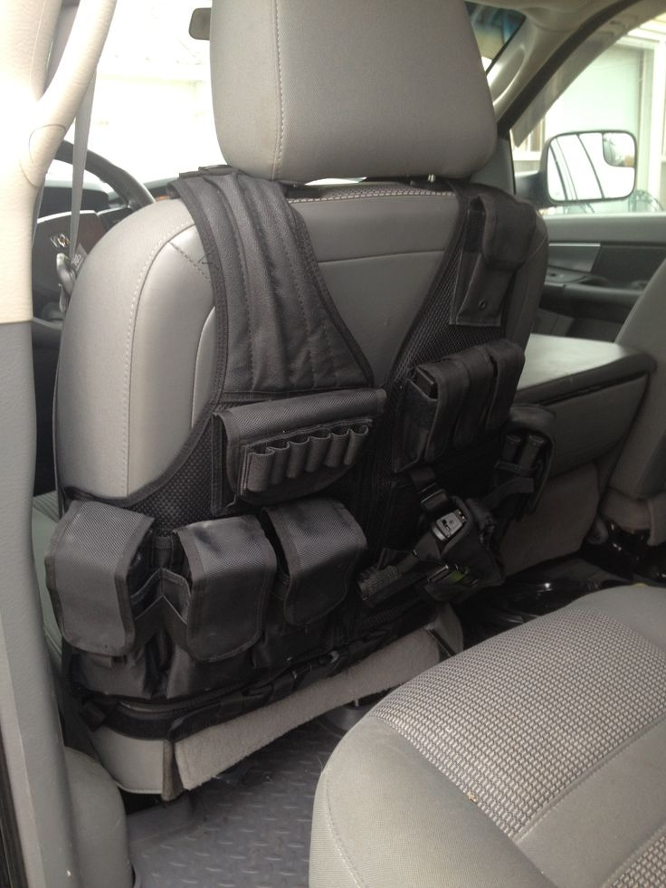 tactical vest seat covers just a cheap tactical vest turned around and zipped up tactical. Black Bedroom Furniture Sets. Home Design Ideas