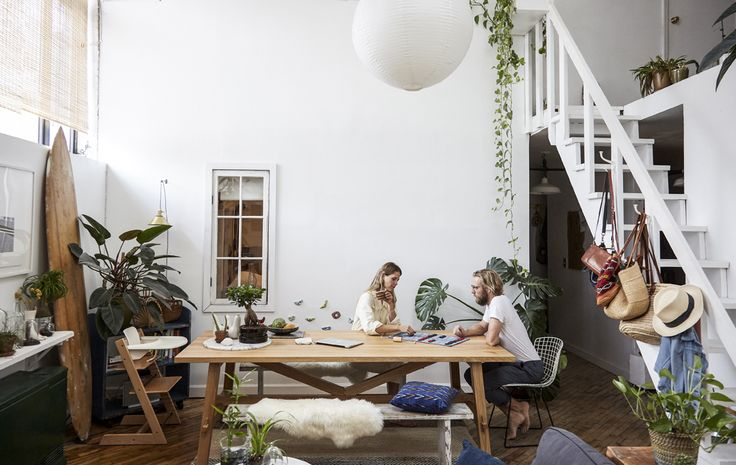 Fill a light and bright loft with plenty of plants to bring the outdoors into an urban environment #IKEAIDEAS