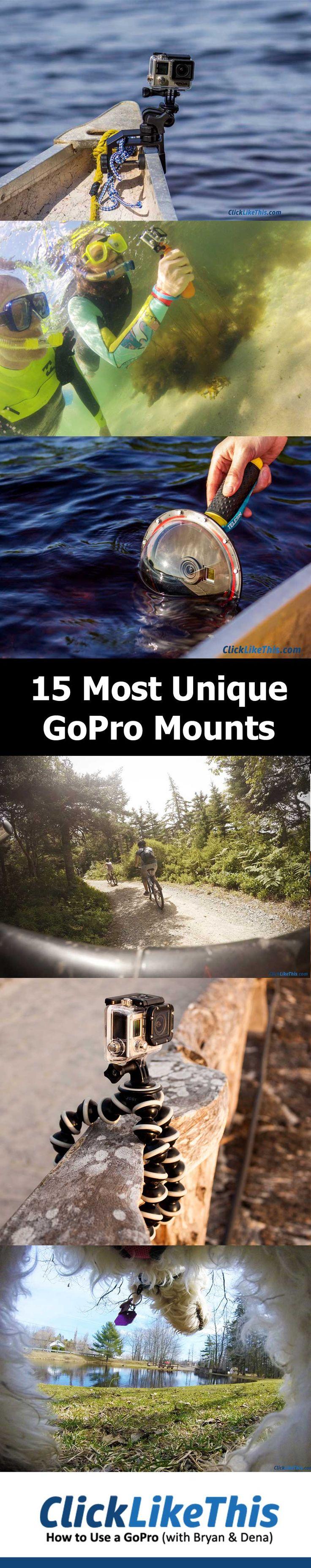 Best unique GoPro mounts