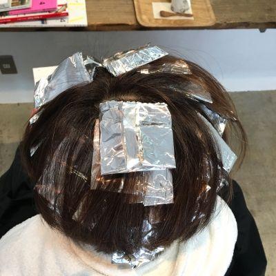 代官山美容室AL 春髪形 ボブショートボブハイライト大人スタイルナチュラル