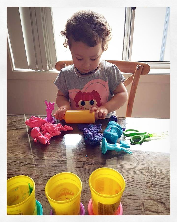 Simple Activity: Play Doh. There are so many ways to use play doh, it's amazing!