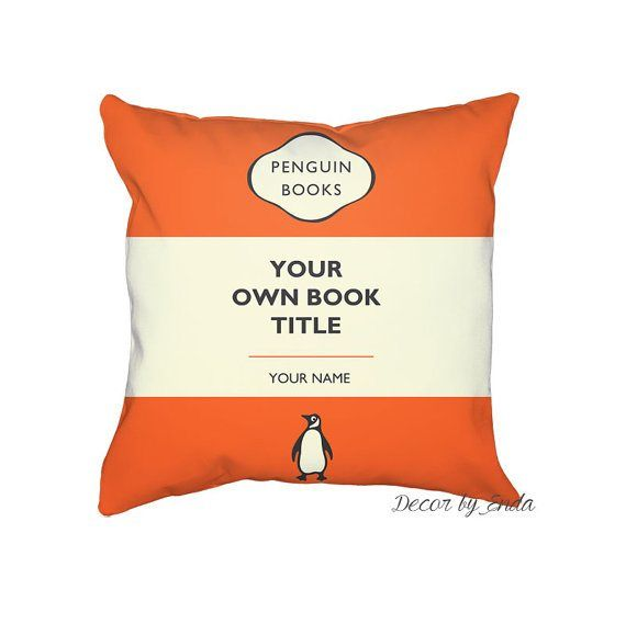 25 Gifts Under $25 for Writers and Book Lovers – Custom Penguin Books Pillowcase