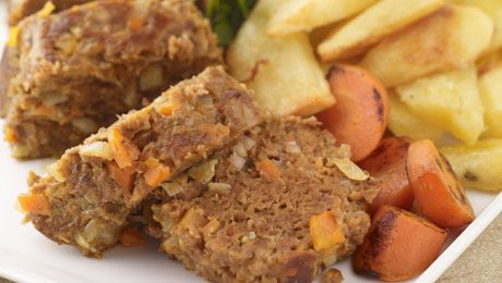 Kevin's Meatloaf with Wedges