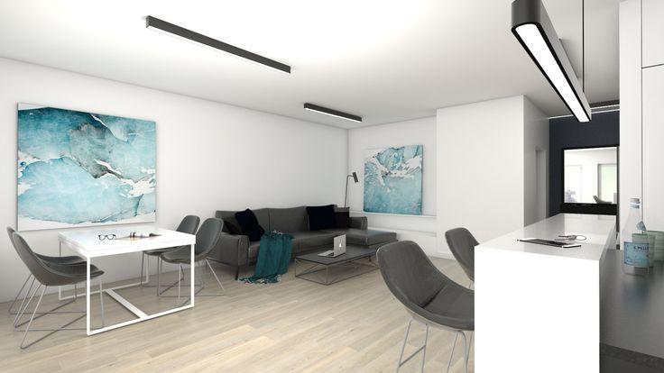 #atoato #interior #minimalist #projekt #wnętrz #salon #kuchnia #minimalizm