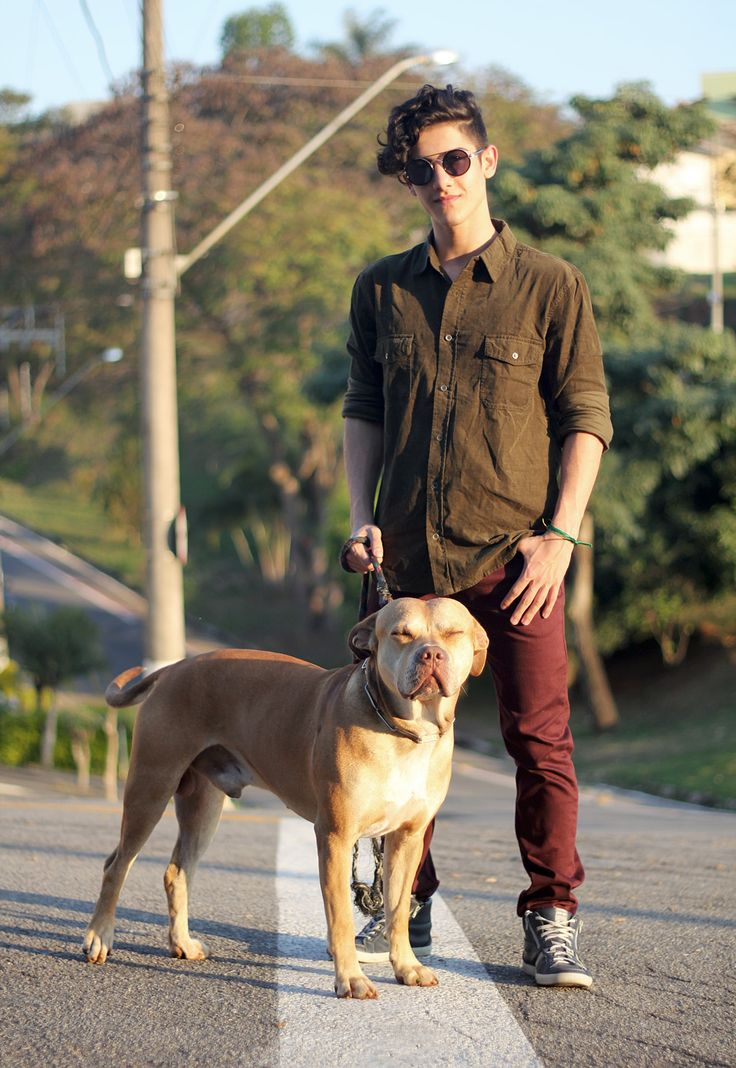 Look Masculino: Militar e Marsala - Consciência Jeans