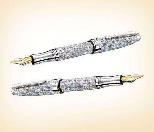 Laban-Diamond-Fountain-Pen-3736-diamonds-17-carats