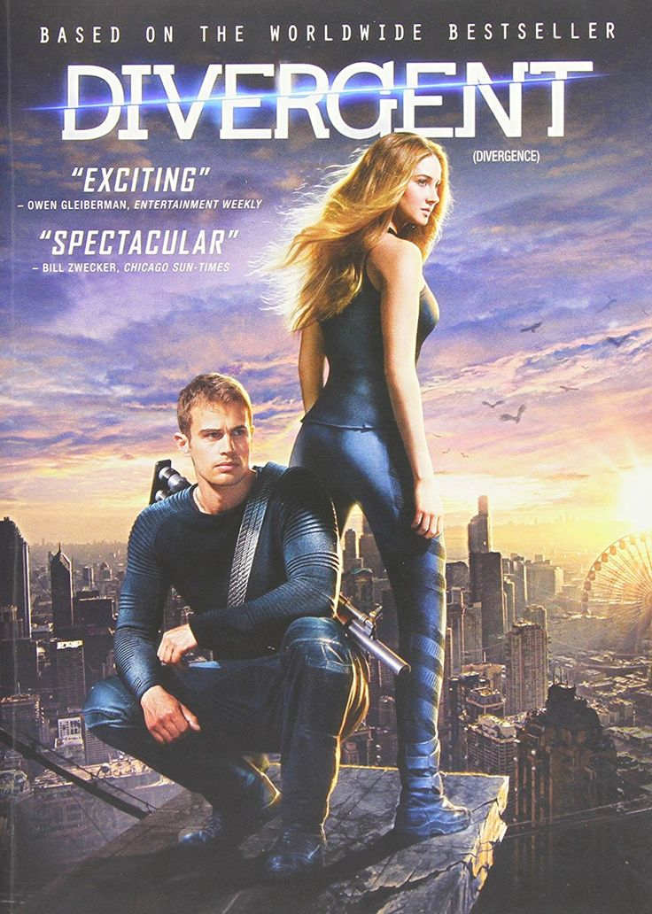 Divergent (2014) ... Tris Prior (Shailene Woodley) lives in a world in which society is divided into five factions. As each person enters adulthood, he/she must choose a faction and commit to it for life. Tris chooses Dauntless - pursue bravery above all else. However, her leads to the discovery that she is a Divergent and will never be able to fit into just one faction. Warned that she must conceal her status, Tris uncovers a looming war which threatens everyone she loves. (26-Mar-2017)