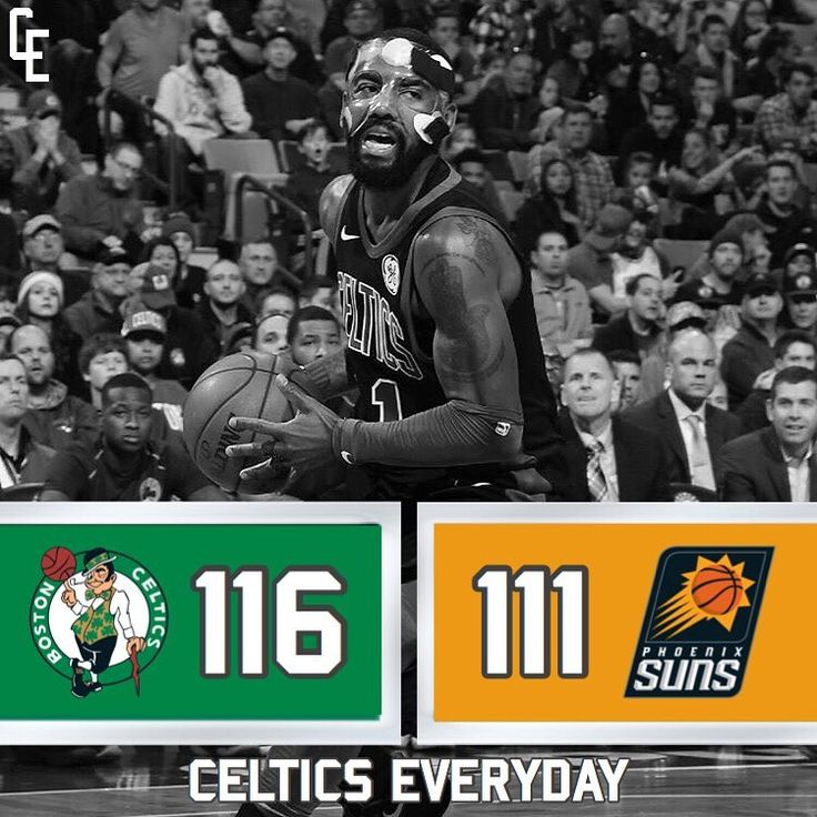 Final: Celtics 116-111 Suns - K.Irving: 19pts 5asts J.Brown: 17pts 2asts J.Tatum: 15pts 6rebs 2asts A.Horford: 14pts 5rebs 11asts A.Baynes: 6pts 1reb 2asts --- M.Smart: 13pts 4rebs 7asts T.Rozier: 3pts 3rebs 2asts M.Morris: 17pts 8rebs S.Ojeleye: 6pts 2rebs D.Theis: 6pts 2rebs 1ast - #Celtics #Boston #BostonCeltics #GoCeltics #GoCs #GoGreen #Green #GreenRunsDeep #BleedGreen #NBA #CelticsEveryday #AllAbout18 #BostonStrong #CelticNation #CelticPride #WereOneSuperstar #QuestFor18 #18in18…