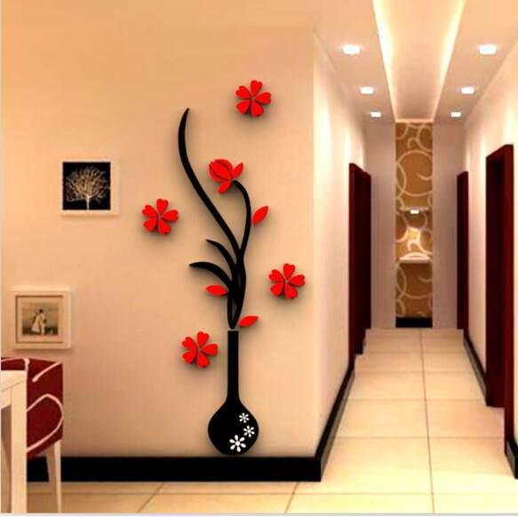 3D Wallpaper Stickers Wall Home Decor Living Room