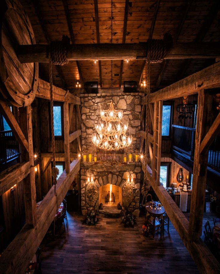 The Barn at Four Fillies Lodge- Peterstown, West Virginia #weddingvenue #rustic #luxury #barn #wedding #westvirginia http://www.fourfillieslodge.com/