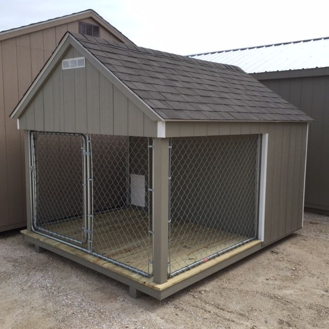 8x10 Dog Kennel For Sale Lone Star Structures 233080620 Dog Kennels For Sale Kennels For Sale Dog Kennel