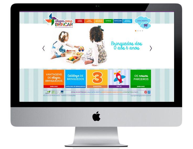 Aluguer de brinquedos online.