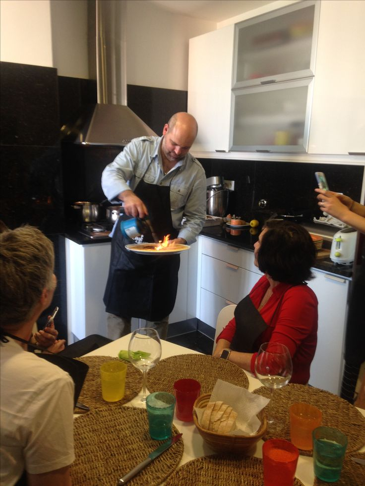 Cooking class at chef's home #cookingclass #lisbon #portugal #lazyflavors