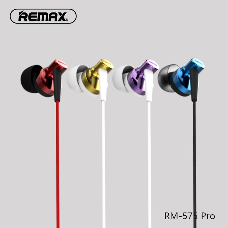 ==> [Free Shipping] Buy Best REMAX Pro noise cancel PET Copper ring In-ear earphone smart button tone quality Curved head design with HD mic for iphone Online with LOWEST Price | 32803592202