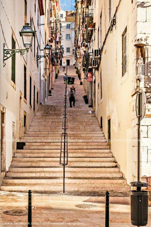 Calçada da Bica Grande, Lisboa | Tozé Fonseca