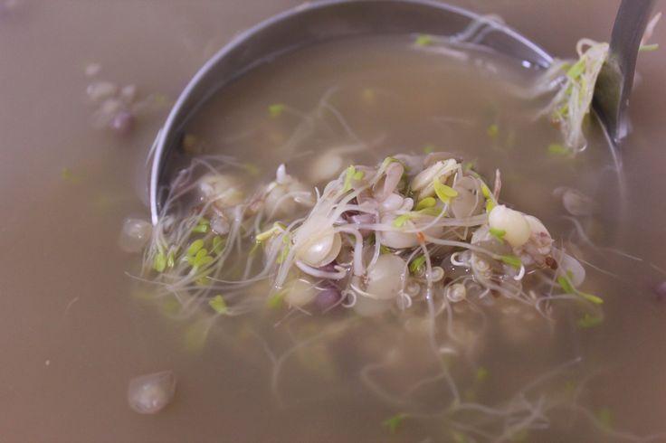 Uma super sopa de grãos germinados e brotos de alfafa by Segredos da Tia Emília. .:: Segredos da Tia Emília ::..