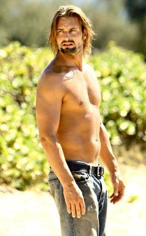 Day 12: a photo of an actor from your favorite TV show... Josh Holloway as Sawyer, LOST