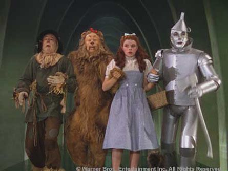 The Wizard of Oz - on TV every year, usually around Christmas time.