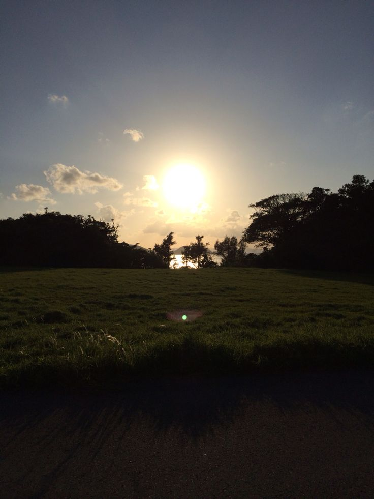 sunset at sukuji beach at ishigaki island,okinawa,JAPAN