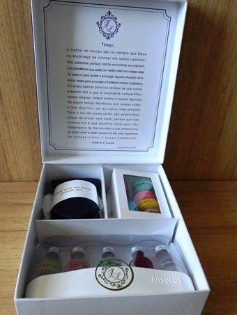 caixa de presente de padrinhos homens