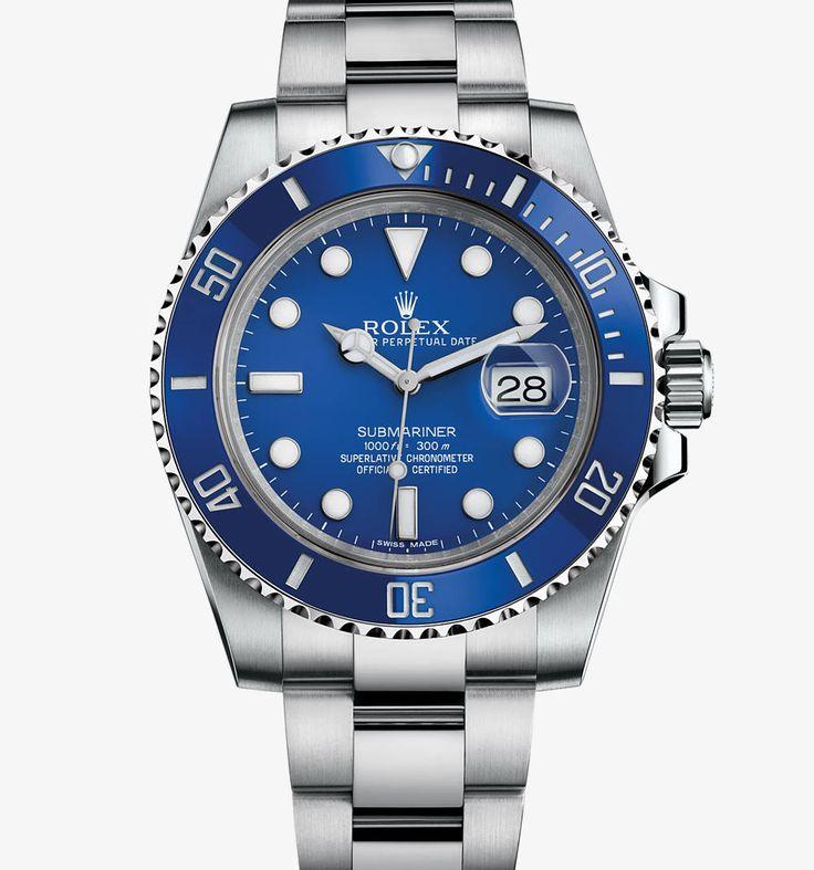 Rolex Submariner Date Watch: 18 ct white gold – M116619LB-0001
