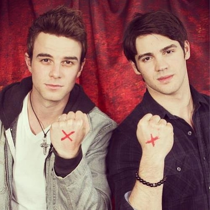 Photo of Nathaniel Buzolic & his friend   -