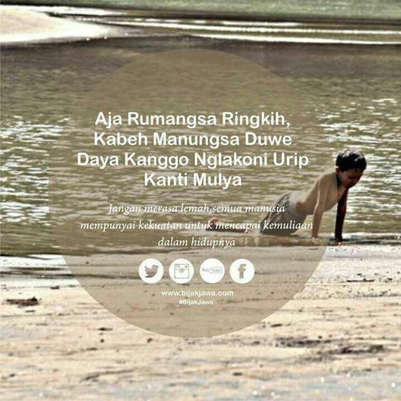 Gambar Dp Bbm Kata Bijak Bahasa Jawa 2017 2018 2020 2021 Kata Kata Motivasi Bijak Kata Kata