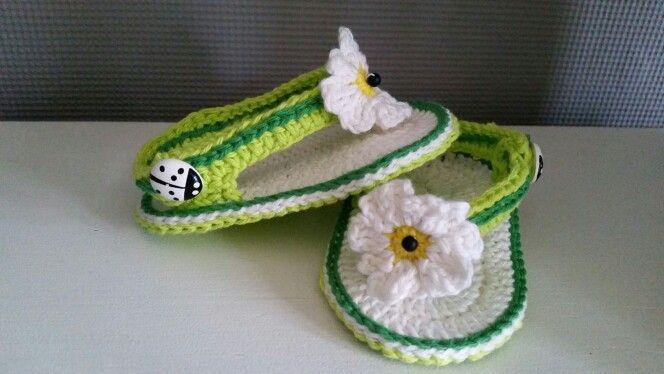 Zomerse meisjes sandaaltjes.