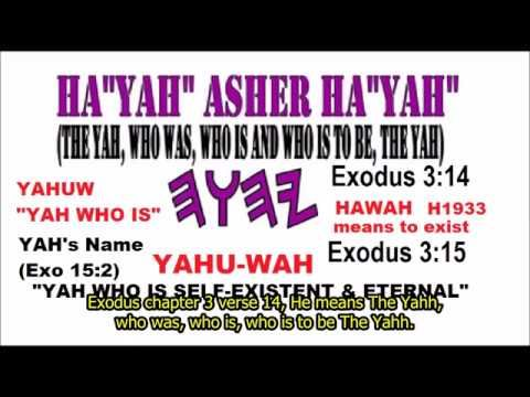 Response to Chaazawan: Which is True Ancient Hebrew: Yahh