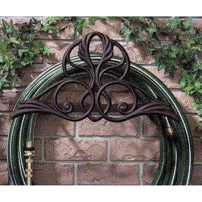 Whitehall Victorian Garden Hose Holder Copper Verdi - 00470