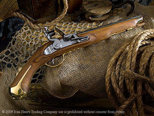 1720 French Cavalry Flintlock Pistol