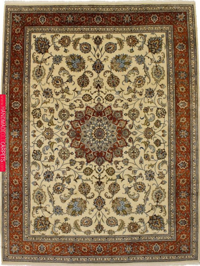 Antique Persian Rugs One Of A Kind Classic Beige Kashmar Persian Wool Rug Oriental Area Carpet 10x13 Magic Rugs New Rugs Magic Rugs In 2019 Antique