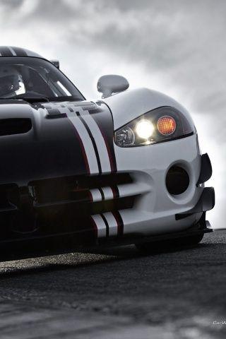 Car black & white Viper ACR