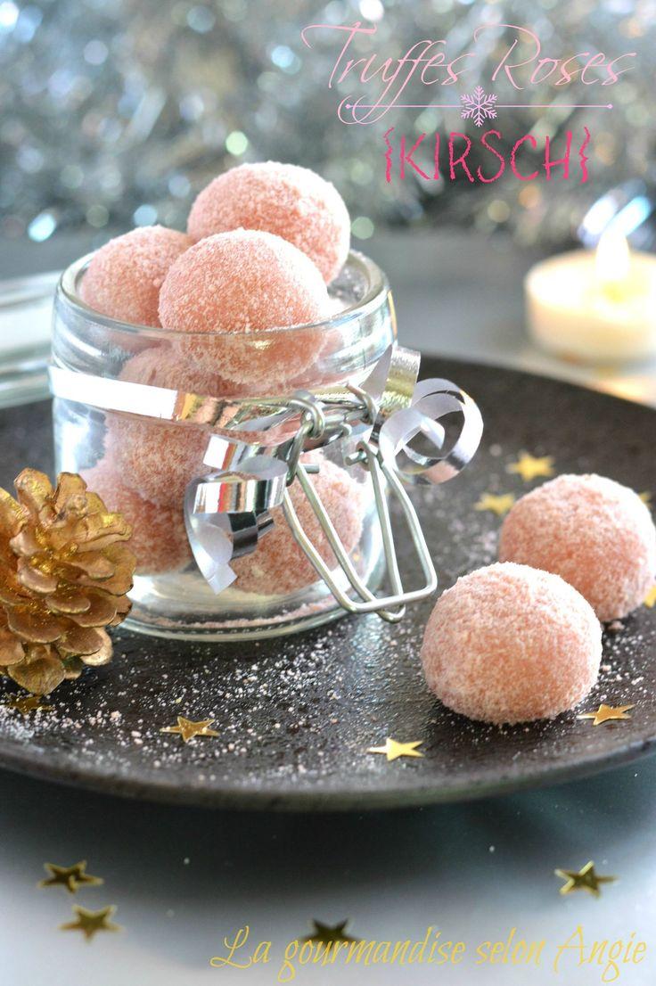 truffes biscuits roses noel 1