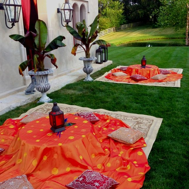 Moroccan themed party via Cameron Mitchell Catering. | Arabian Party
