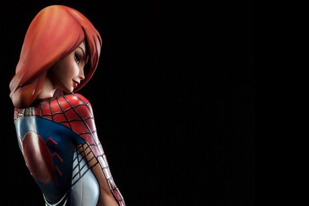 Sideshow J Scott Campbell Mary Jane Statue
