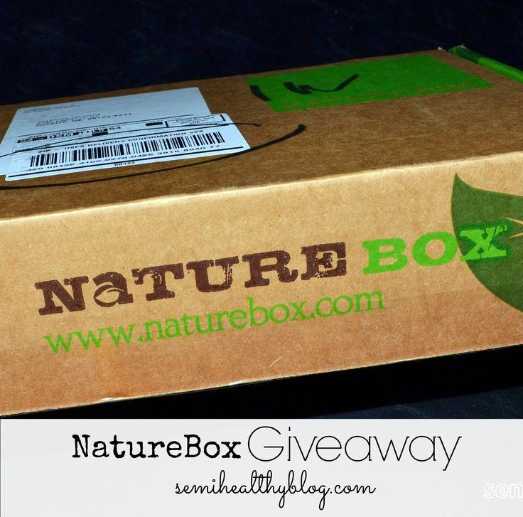 Nature box. Healthy snacks.