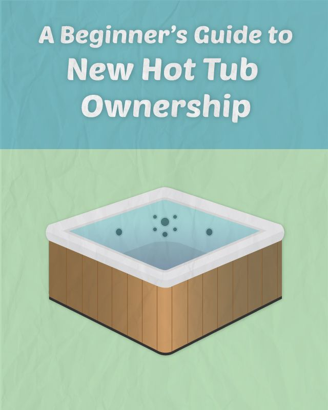 I just put together a handy guide for new hot tub owners. It's a collection of all the best articles and videos about hot tub care in the proper order. Let me know what you think. I would love some feedback to help improve it along the way.