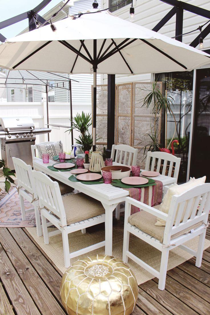 Boho Backyard Paradise Via Goldalamode For Cost Plus World Market