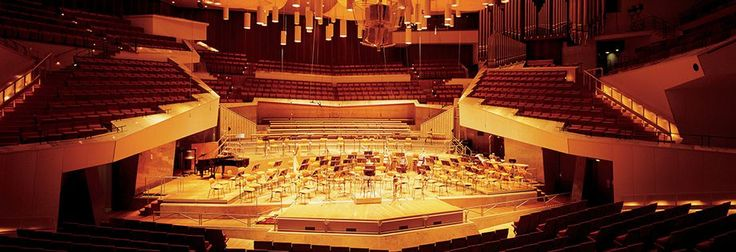 berlin philharmonic concert hall - Google Search