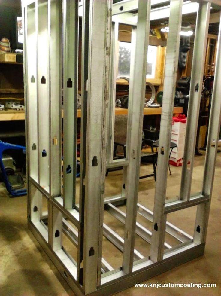 Powder Coating Oven Wall Frame