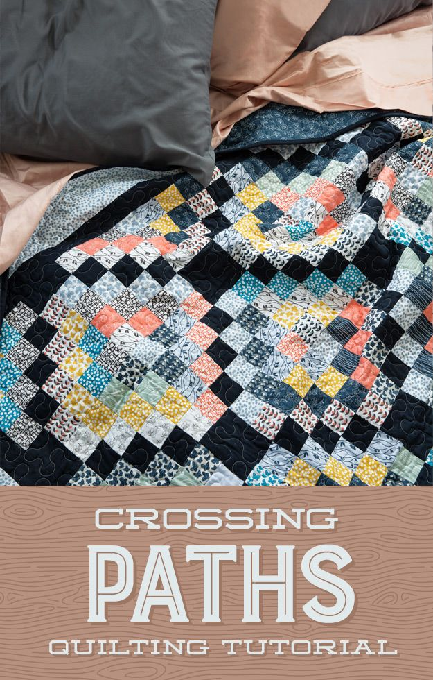 Crossing Paths Quilt Tutorial   The Cutting Table Quilt Blog   Bloglovin'