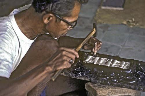yogya silver work, Indonesia