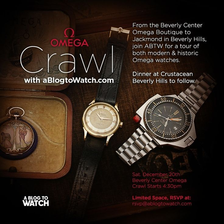 aBlogtoWatch EVENT: Celebrate Modern & Vintage Omega Watches In Los Angeles December 20, 2014   watch shows events