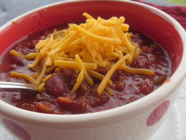 Chef Tess Bakeresse: Classic Chili...Meal in a Jar ( My 52 Method Continues!)