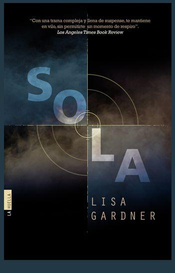 Diseño de cubierta realizado para el thriller SOLA editado por Ediciones Pàmies