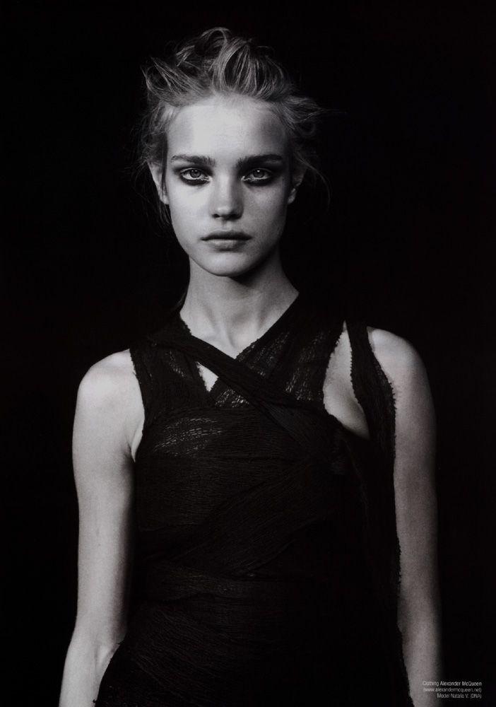 Natalia Vodianova by Peter Lindbergh for V September/October 2002