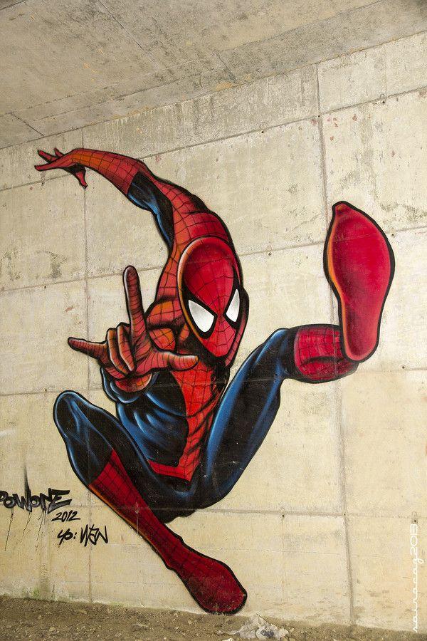 Street Art in Spain - Spiderman